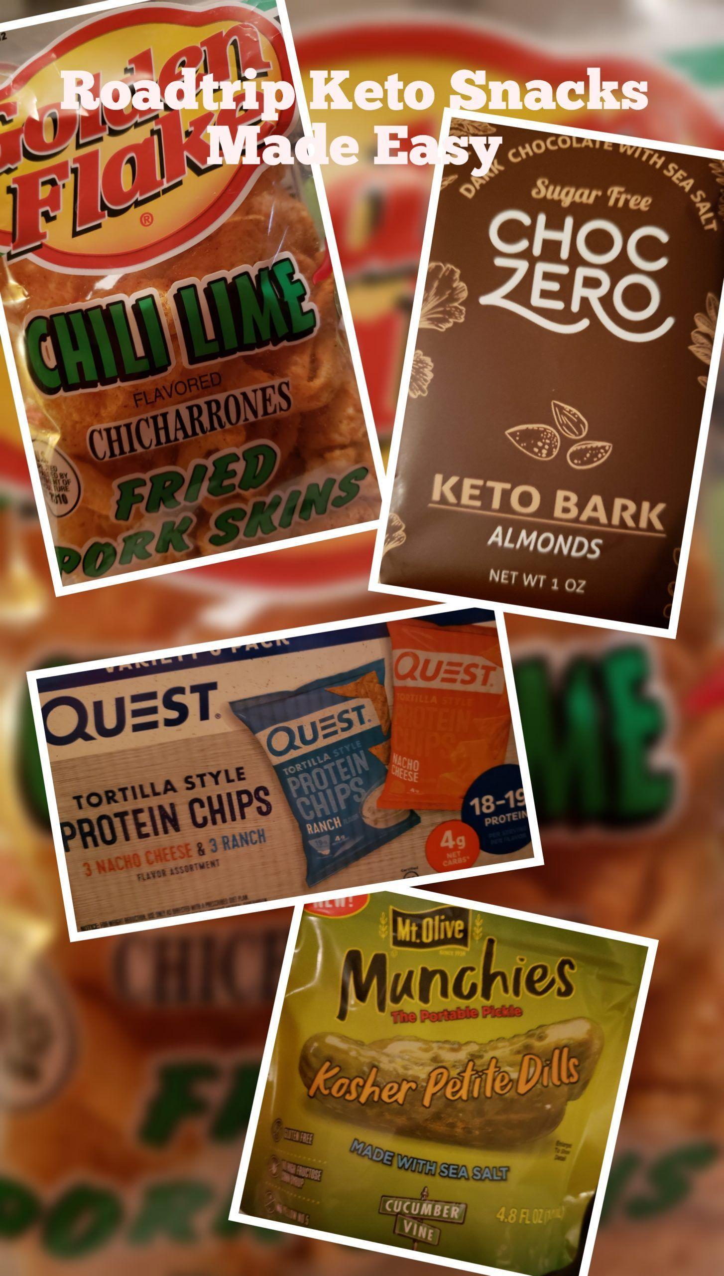 Roadtrip Snacks .. Keto Style Roadtrip Snacks .. Keto