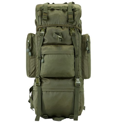a89d165e0e46 70L Metal Steel Frame Bag Men s New Military Backpack Waterproof Nylon  Backpacks Free Shipping D506