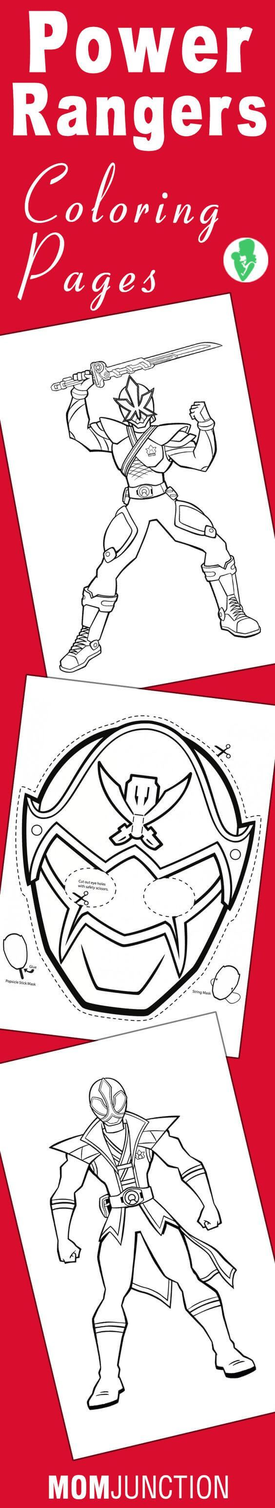 Print your own Power Rangers coloring pages! | Power Rangers ...