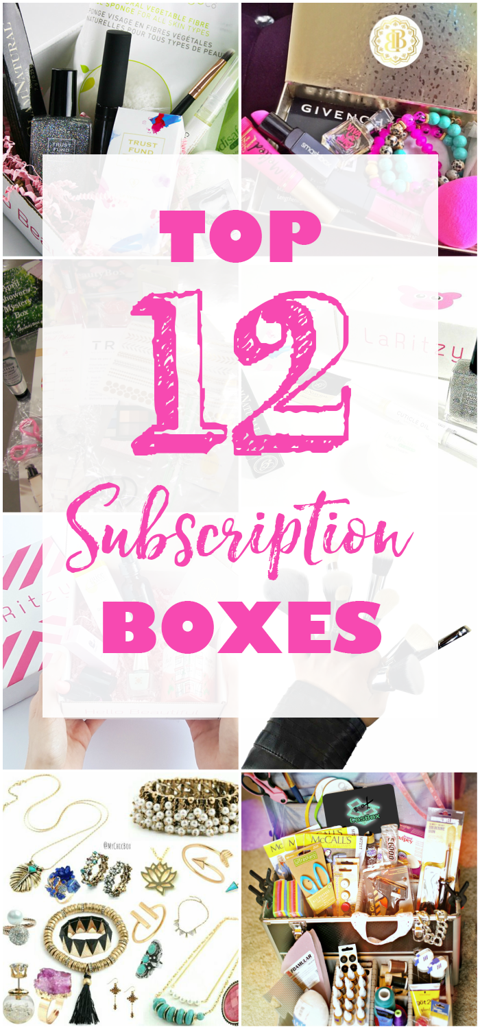Top 12 Subscription Boxes from CrateJoy for Women - coming monthly  everything from clothing d25426c5f