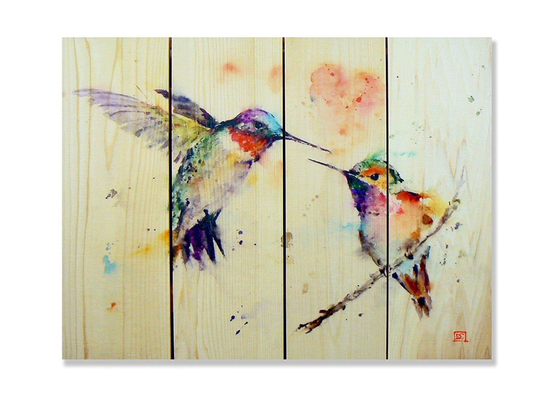 Gizaun Art Signature Series No.1 \'Love Bird\' Inside/Outside Full ...
