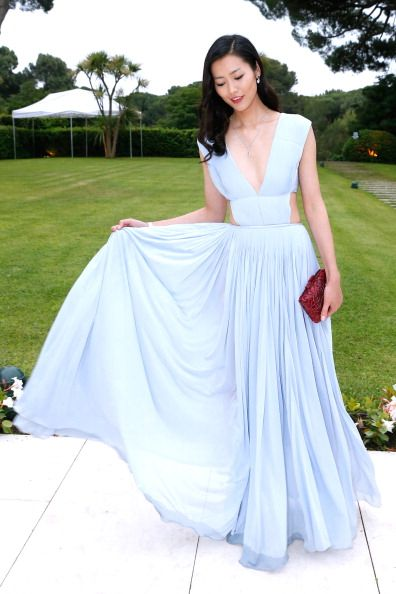 Liu Wen at the AMFAR Benefit at the Cannes Film Festival, May 22nd 2014.