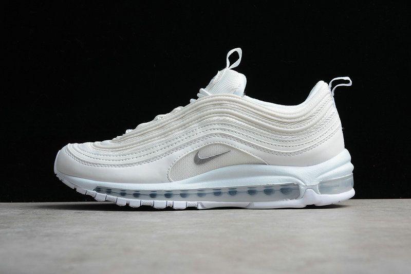 9b57bb270e1c22 Legit Cheap Men Nike Air Max 97 OG Future Forward Triple All White 921826- 101
