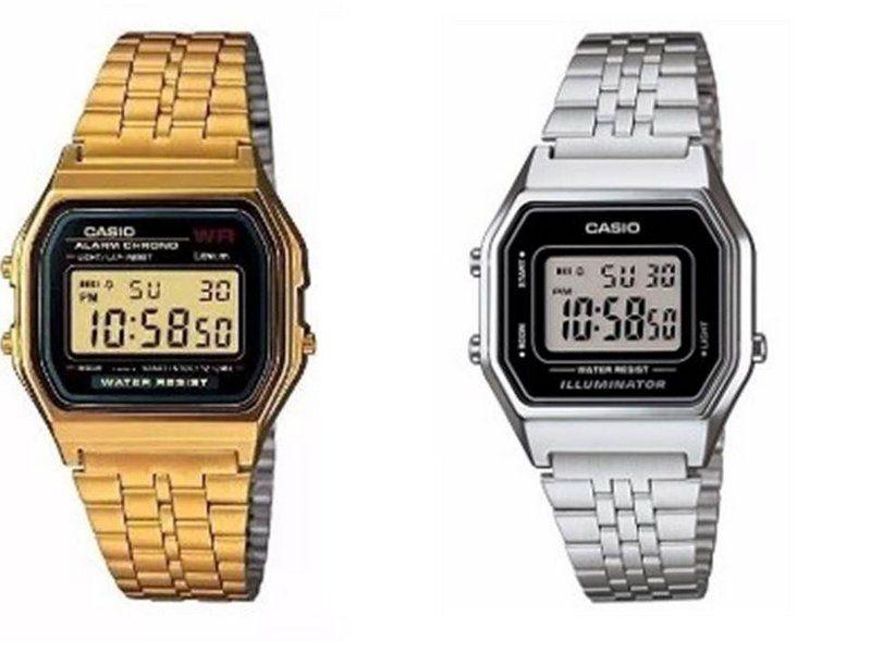 af695b8acf5 Confira relógios Casio Femininos e Masculinos preço de atacado para revenda.  Relógio Casio barato dourados