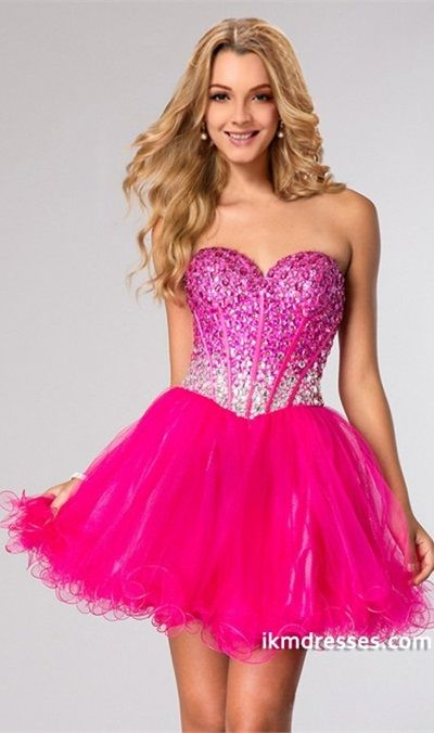 http://www.ikmdresses.com/2015-Sweetheart-Full-Beaded-Bodice-Homecoming-Dresses-A-Line-Short-Mini-Tulle-p83427