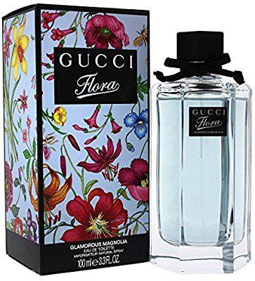 Amazoncom Gucci Flora Glamorous Magnolia Eau De Toilette Spray