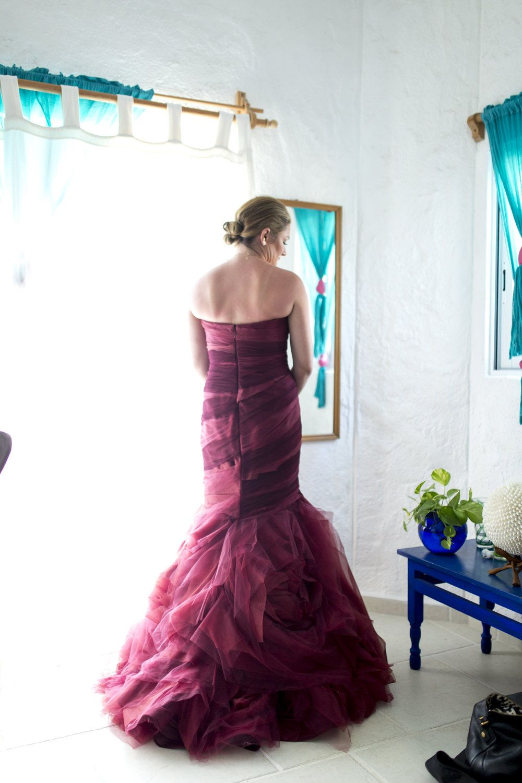 The Red Dress Wedding, Sayulita Nayarit Mexico — Seattle