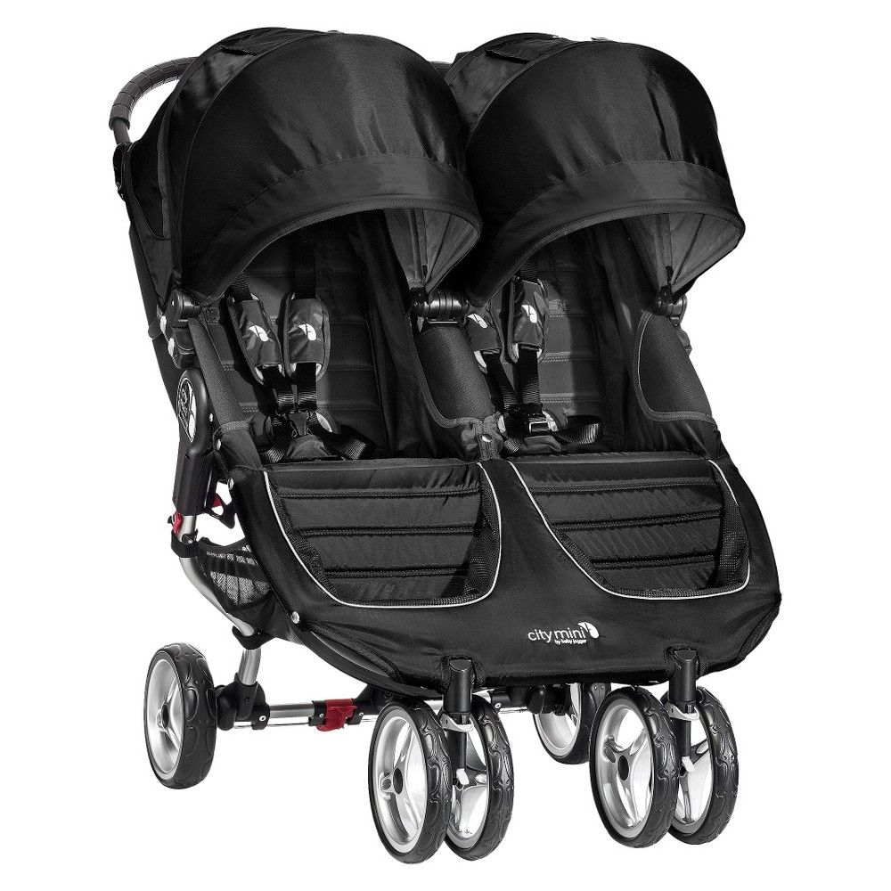 Baby Jogger City Mini Double Stroller Black Baby