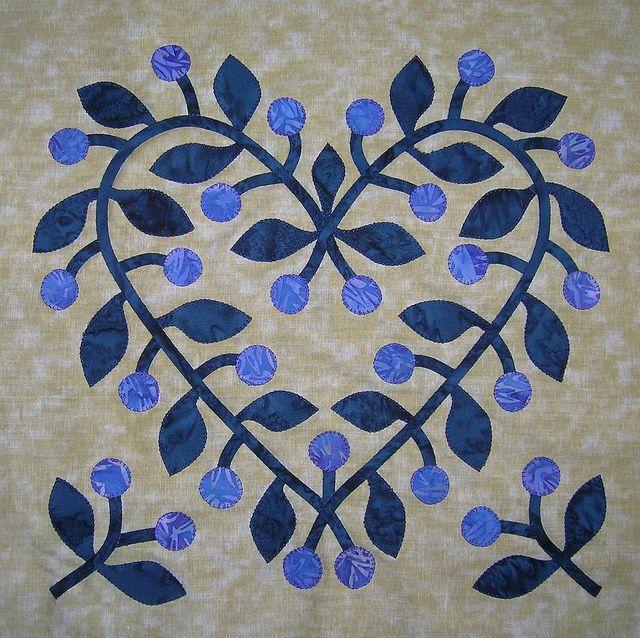 Baltimore Album Quilt, block 3 Quilts, Applique quilt
