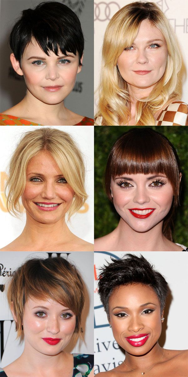 The Best And Worst Bangs For Round Face Shapes Bangs For Round Face Round Face Haircuts Round Face Celebrities
