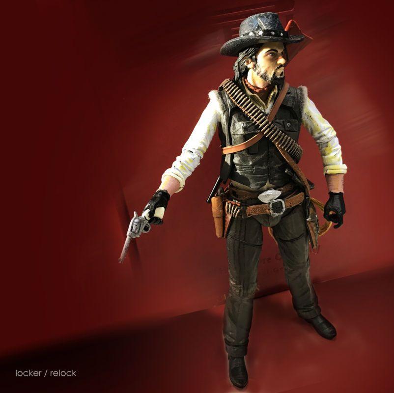 RDRu0027s John Marston (Red Dead Redemption) Custom Action Figure