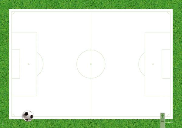 """türkis 40 Blatt Notizfeld Papier Schreibtischunterlage A2 """"StrichPunkt.""""grau"""