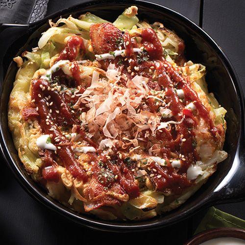 Osaka Style Okonomiyaki Recipe Authentic Asian Recipes Recipe Clean Eating Recipes For Dinner Authentic Asian Recipes Asian Recipes