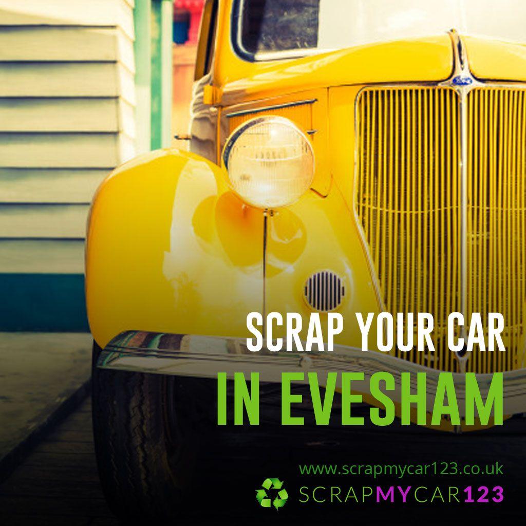 Scrap My Car for Cash Evesham, Scrap My Van Evesham, Scrap