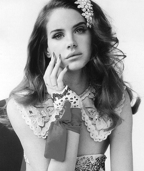 """Lana Del Rey.  'Maybe we could go to Coney Island, maybe I could sing the National Anthem. """""""