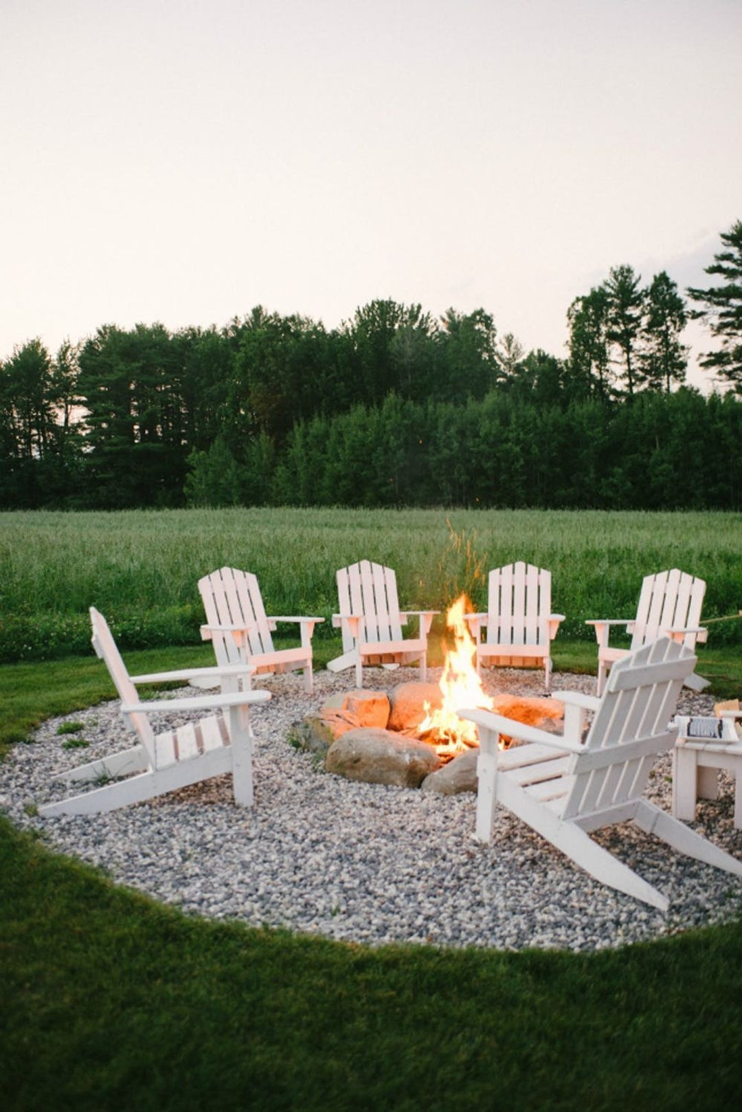 The 15 Best Backyard Entertaining Ideas According To Pinterest Outdoor Fire Pit Seating Plans