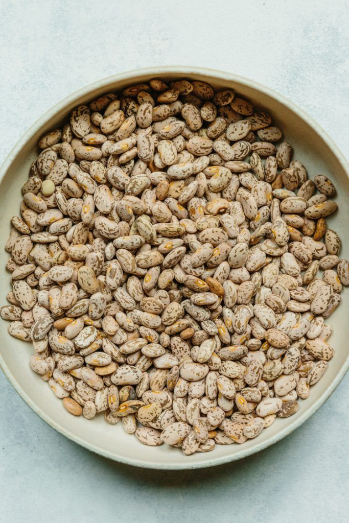 Beautiful Heritage Pinto Beans || The Year in Food