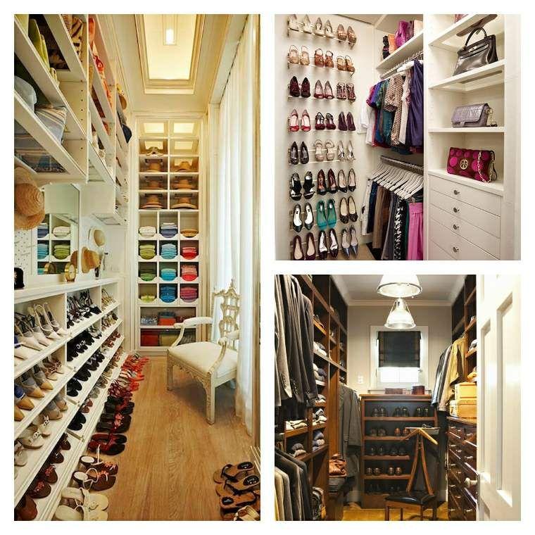Idée dressing : 45 idées d\'aménagement et de rangement   Dressings