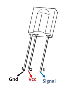 tsop1738 pinout pin diagrams in 2018 pinterest electronics rh pinterest com