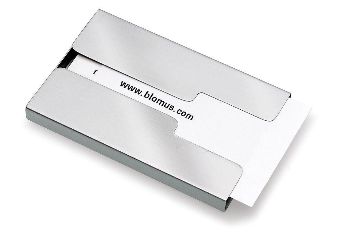 $11.95 - Blomus Sliding Stainless Steel Business Card Holder (Model ...