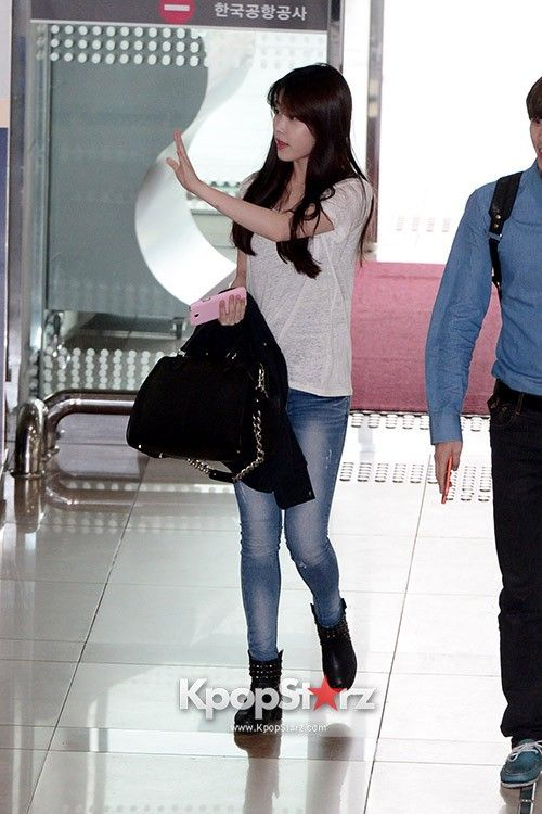 IU Leaving for Fan Meeting in Japan May 22, 2013