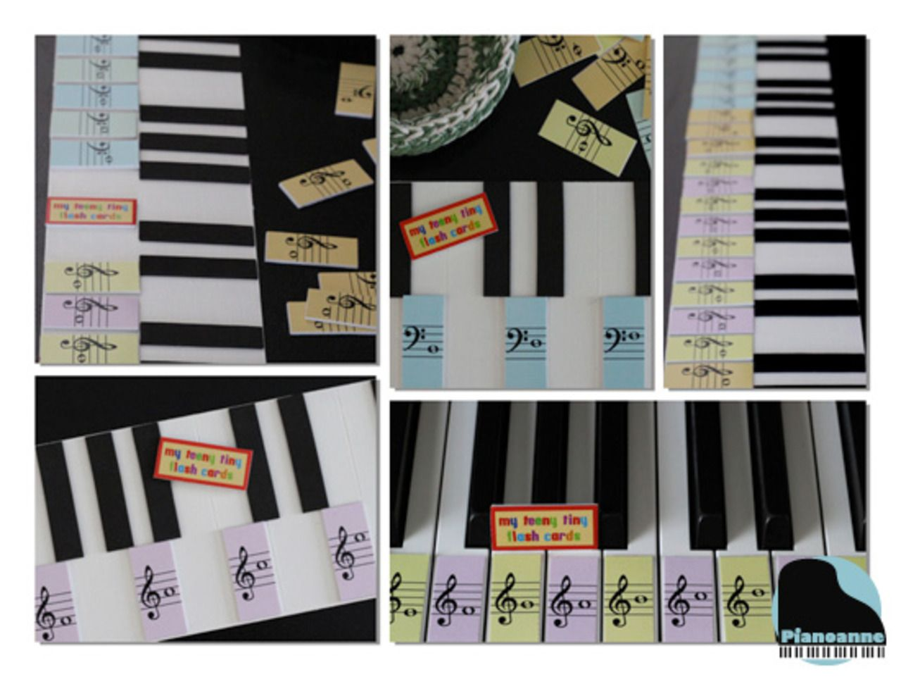 Pianoanne Teeny Tiny Flash Card Diy Piano Teaching Resources Piano Teaching Learn Piano [ 961 x 1280 Pixel ]