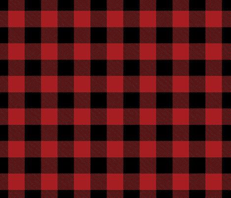 Colorful Fabrics Digitally Printed By Spoonflower Buffalo Check Flannel Plaid Red Black Plaid Wallpaper Red And Black Flannel Iphone Wallpaper Pattern