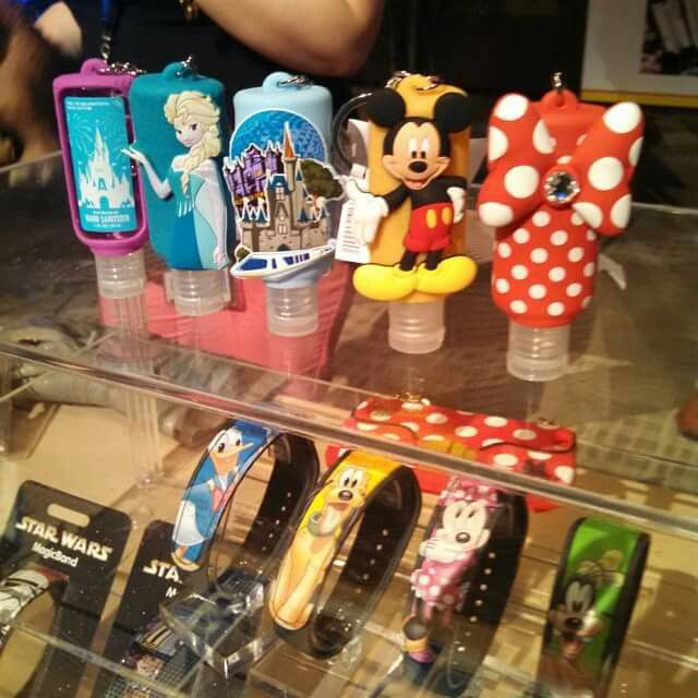Hand Sanitizer Holders Disney Souvenirs Hand Sanitizer Holder