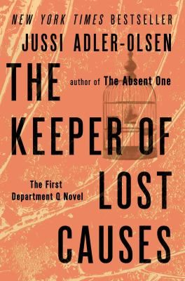 "The Keeper of Lost Causes (The First Department Q Novel) by Jussi Adler-Olsen. When homicide detective Carl Mørck is ""promoted"" to Department Q, the resting place of Copenhagen's coldest cases, he feels it's only as much as he deserves for letting two fellow cops die without drawing his weapon. But Carl soon realizes that at least one of these cases is still a bit warm, and he may be the only hope for a liberal politician who vanished five years ago and who isn't as dead as everyone thought."