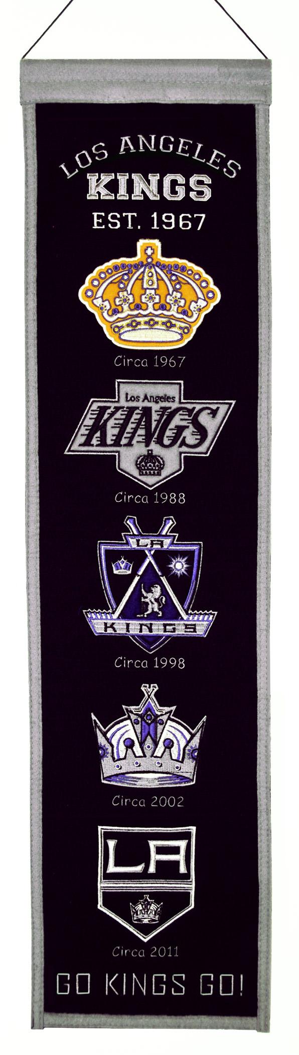 Los Angeles Kings Heritage Banner | King frame, Team ...