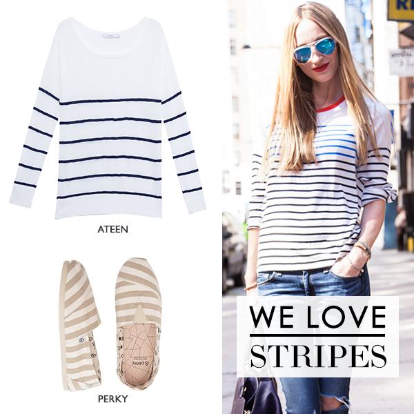 Compre moda com conteúdo, www.oqvestir.com.br #Fashion #StreetStyle #Print #Stripes #Blog
