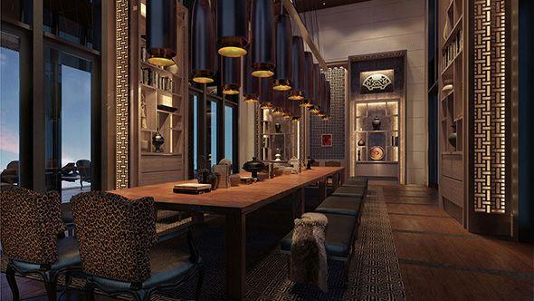 Denniston S Jean Michel Gathy Designs Park Hyatt Sanya Hotel Management Luxury Hotel Design Hotel Interiors Luxury Mansions Interior