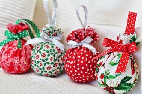 Adornos para el árbol de Navidad | Aprender manualidades es facilisimo.com