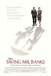 Saving Mr Banks coming to Century Cinemas Letterkenny this Friday 30 November.  Visit www.centurycinemas.ie for more information.