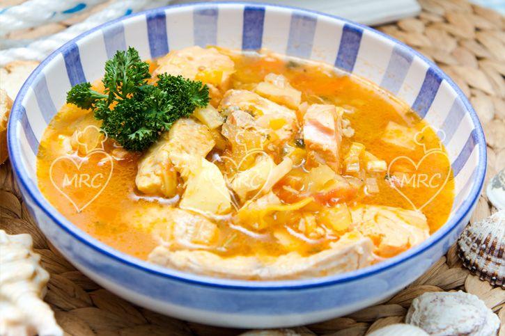 Sopa Bullabesa Recetas Para Cocinar Con Thermomix Sopas