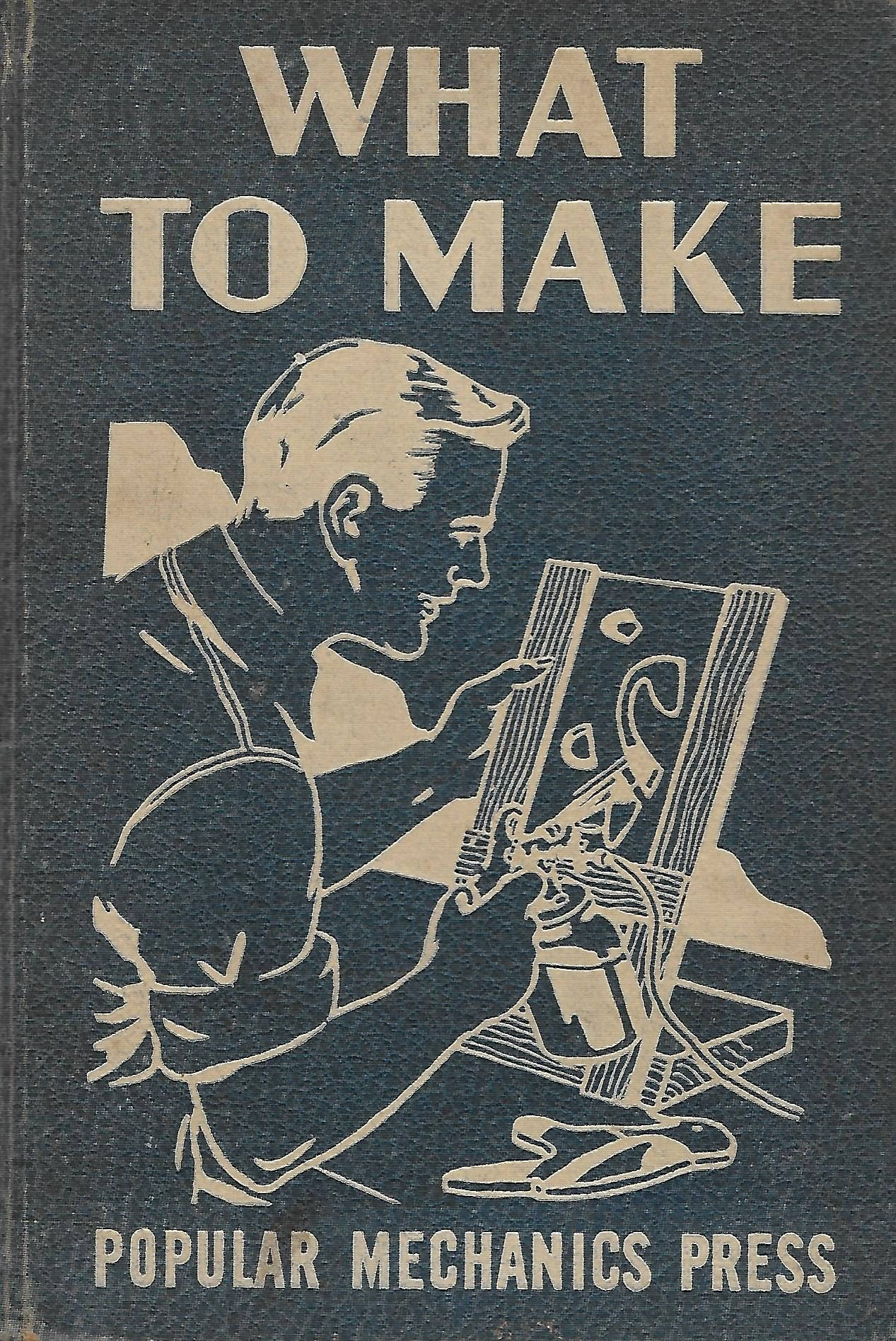Vintage 1940 S Home Improvement Craft Book What To Make 1946