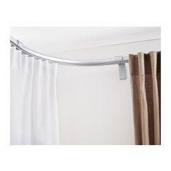 Rieles para cortina anillas para cortinas ikea for Binario kvartal ikea