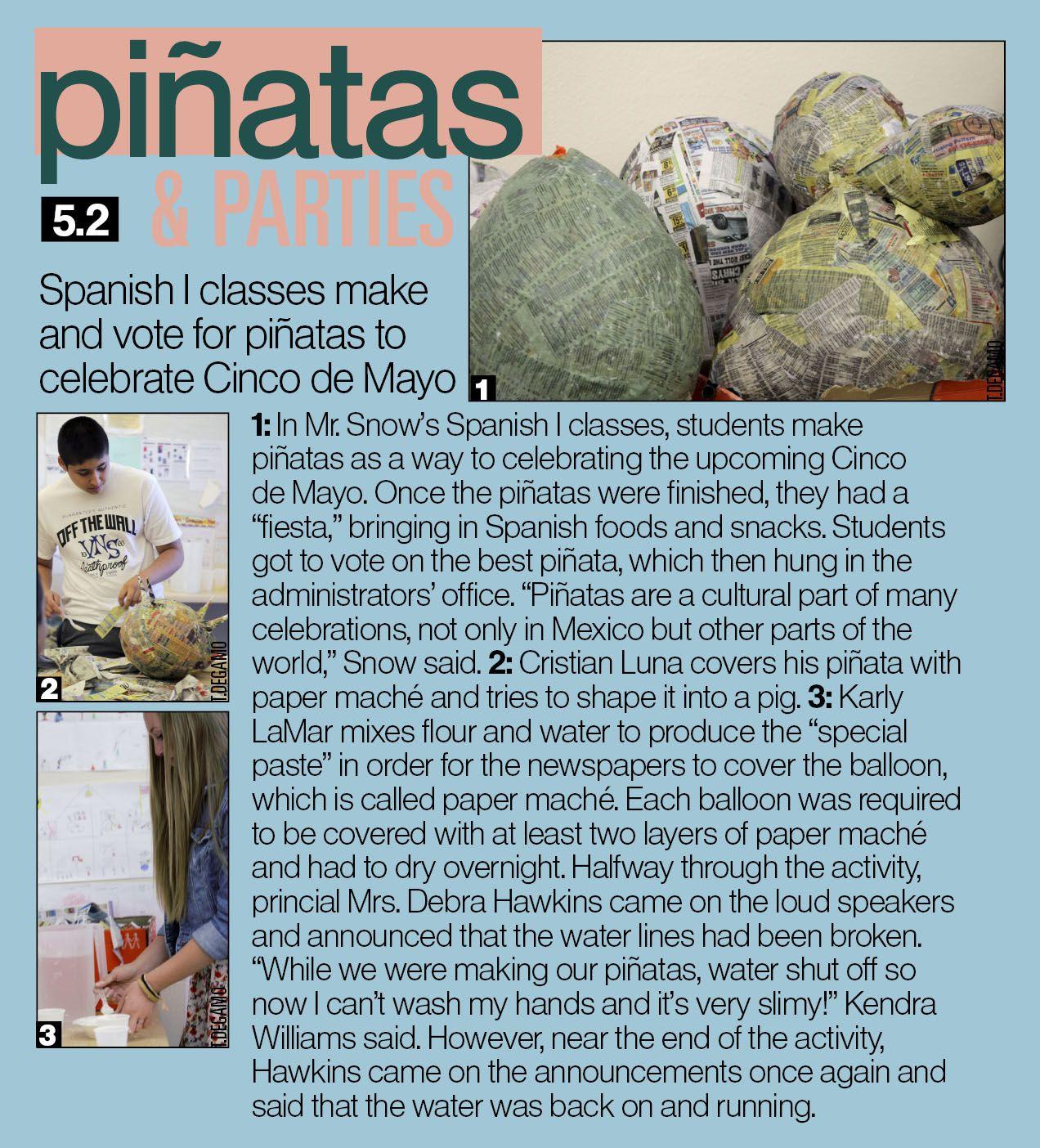 Whitney High School Spanish Pinata Cinco De Mayo