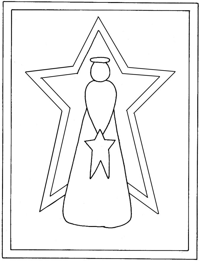 Christmas Angel Template | quotes. | wool quilts | Pinterest | Angel ...
