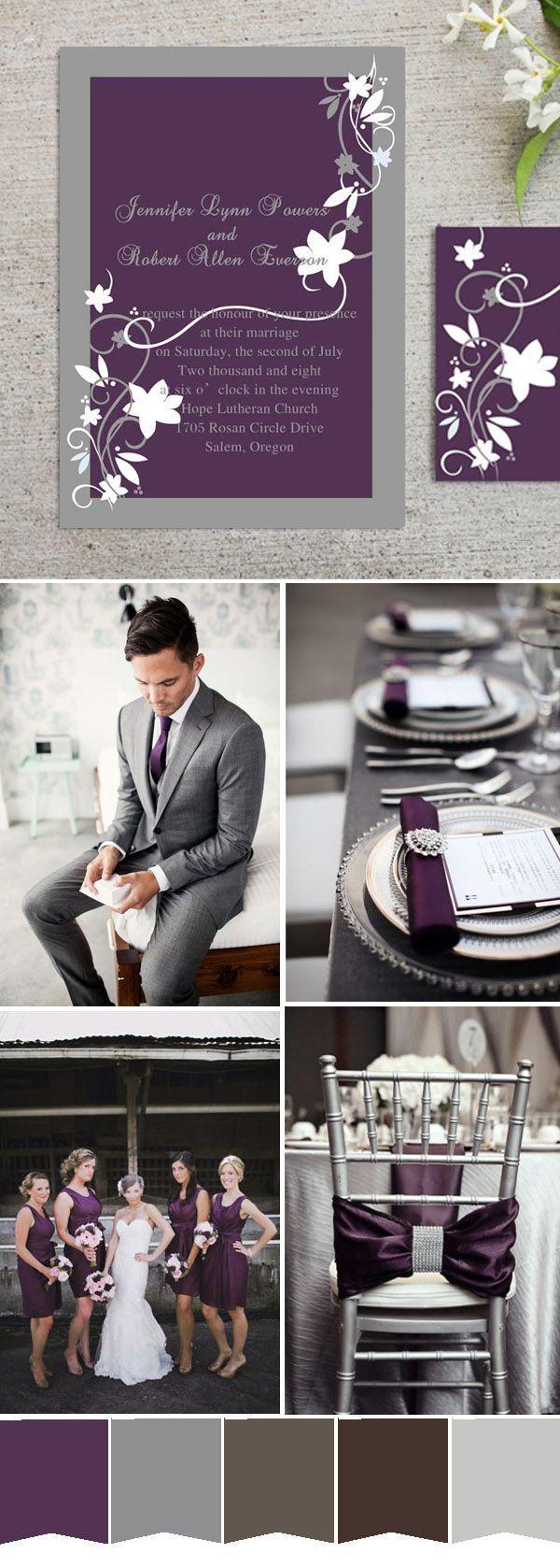 grey wedding themes best photos | wedding | Pinterest | Wedding ...