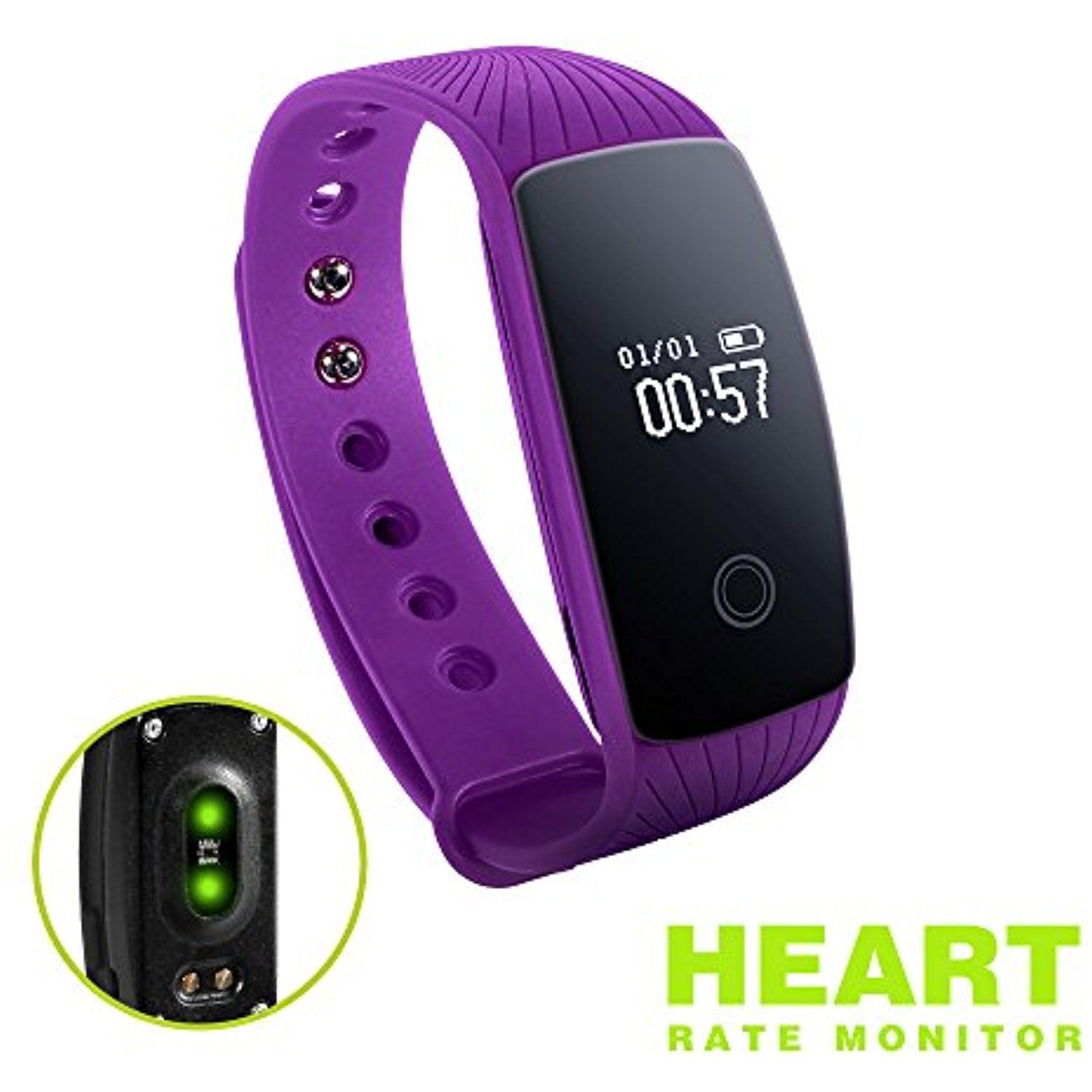 Fitness Tracker Id107 High Accuracy Signal Heart Rate Monitor Activities Record Ip67 Waterproof Touch And Physic Fitness Tracker Smart Bracelet Fitness Monitor