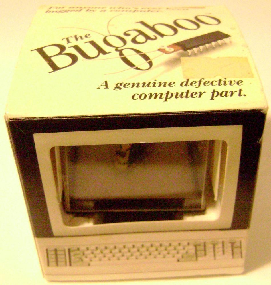 Computer bugaboo tech geek gag gift office nerd desktop pc