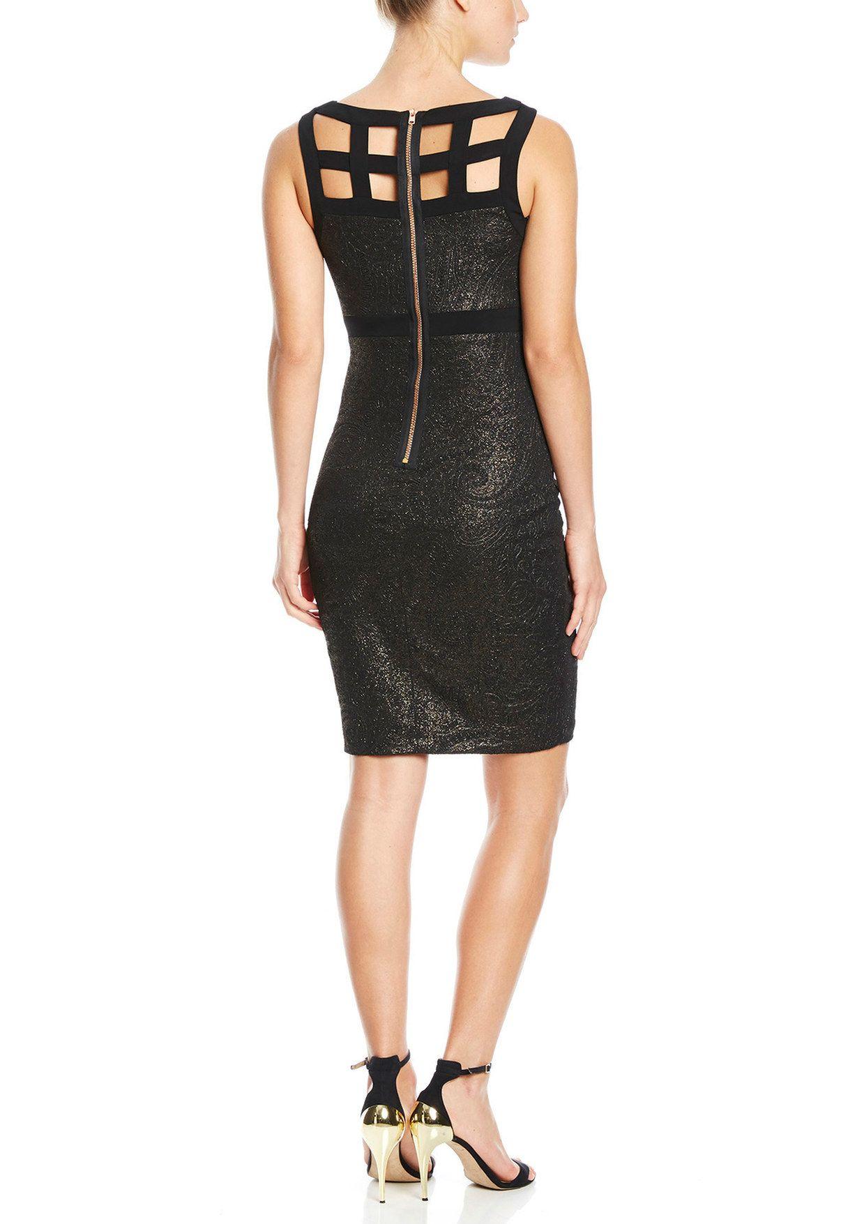 $54.99   JAX Metallic V-Neck Cocktail Dress   ideel.com   big top ...