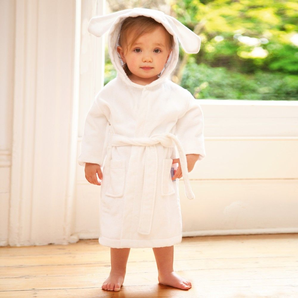 Baby Bunny Towelling Dressing Gown | JoJo Maman Bebe | G r a c e ...