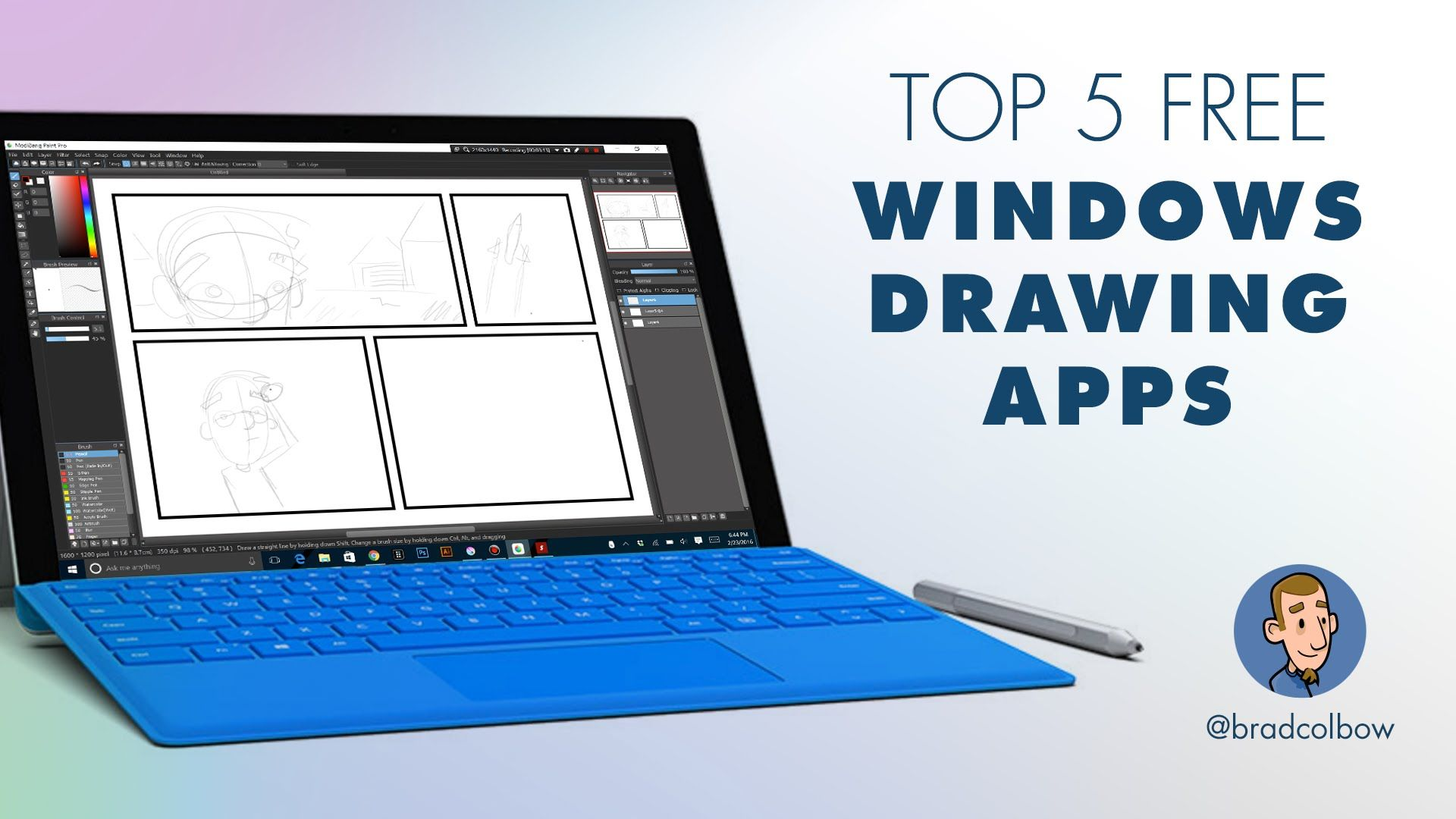 There Are A Ton Of Free Drawing Apps For Windows The Quality Is