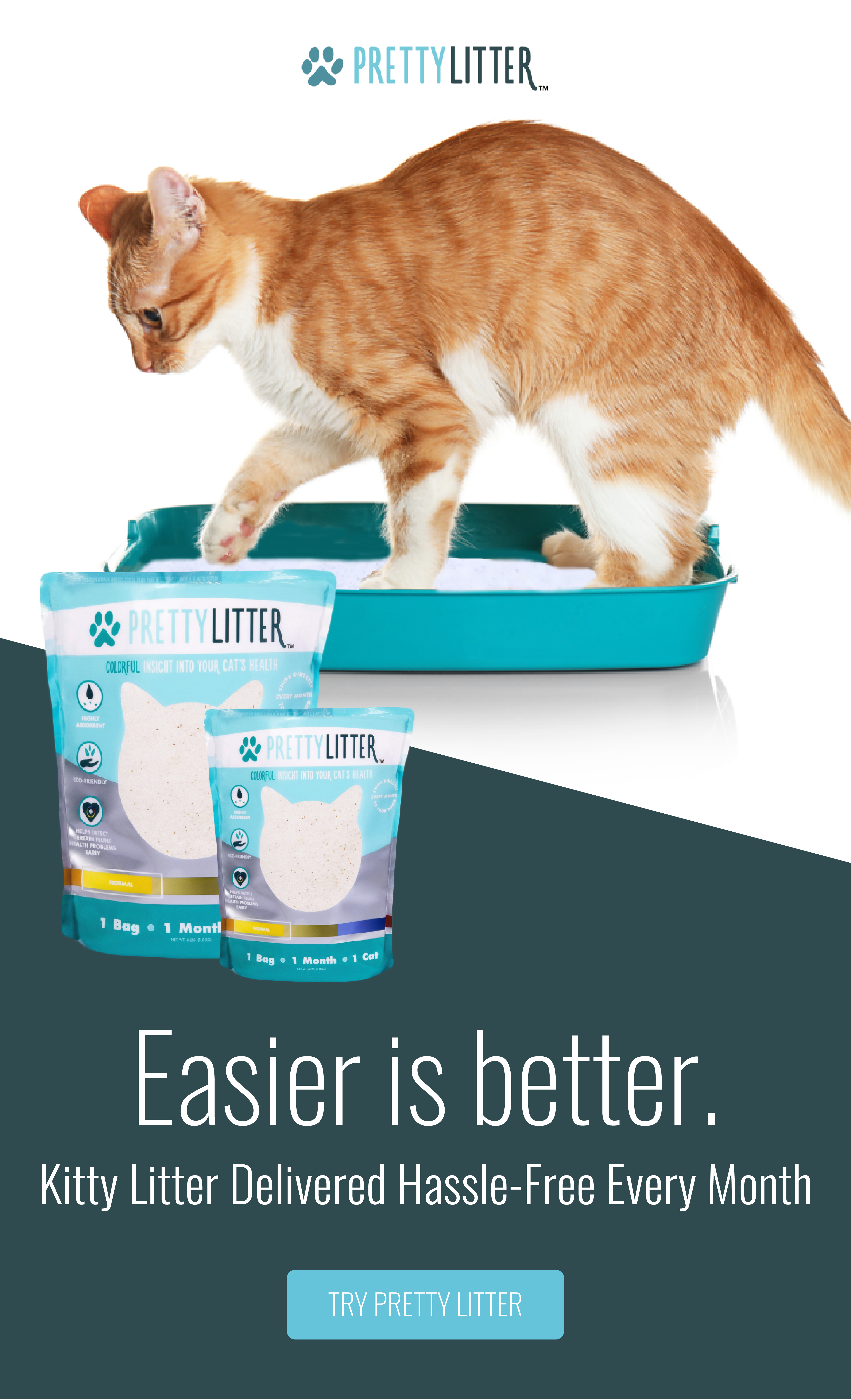 High Quality Cat Litter Delivered Directly To Your Door For