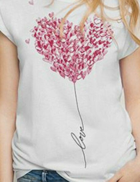 Pin de Marylene Correia em inspiration | Customizar blusa de