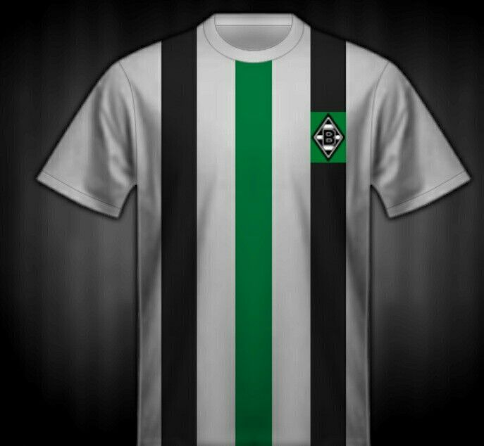 102bc6d50fb Borussia Monchengladbach shirt for the 1973 UEFA Cup Final. Vintage Shirts