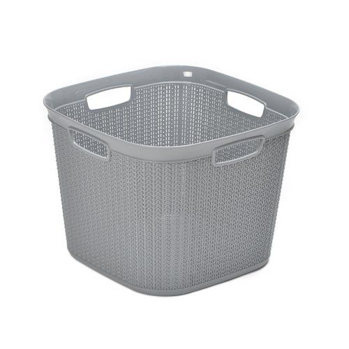 Square 41l Laundry Basket Wayfair Basics Colour Grey Laundry Basket