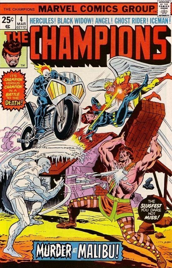 The Champions #4 - Murder at Malibu! March 1976